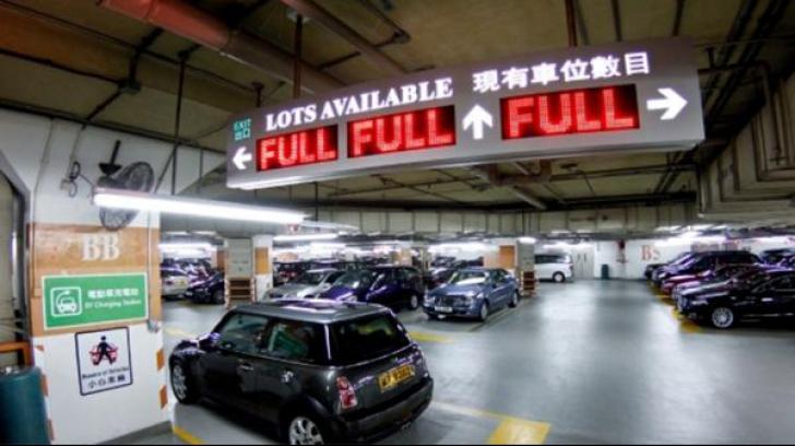 Un șofer din Hong Kong a achitat 1 milion de dolari pentru parcare