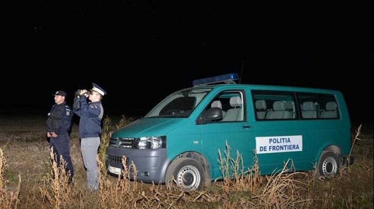 Drumul spre Vest, întrerupt de polițiștii de frontieră. Migranți capturați, în Timiș