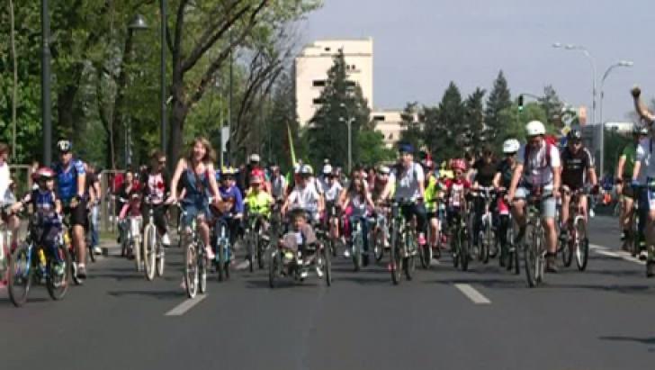 Protest bicicliști București