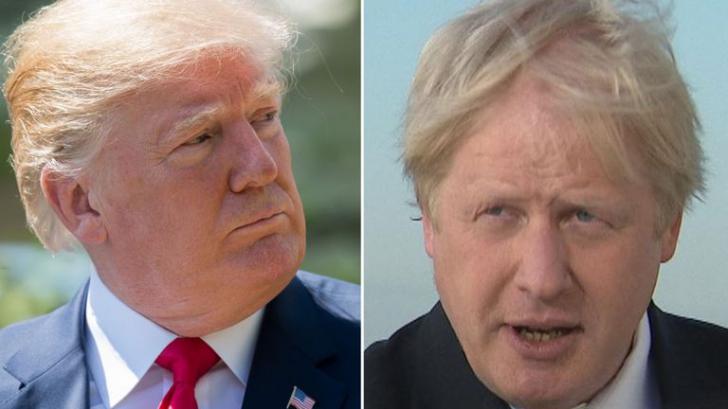 Trump și Boris Johnson