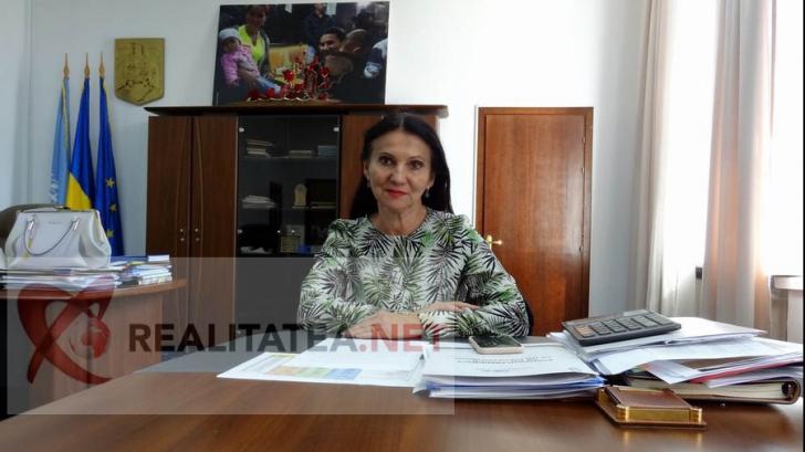 Sorina Pintea, in biroul de la Ministerul Sanatatii. Foto: Cristian Otopeanu