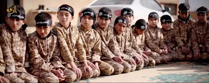 Terifiant! 100.000 de minori depind de organizația Stat Islamic