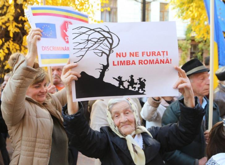 Românii din Ucraina NU vor mai învăța la școală în limba maternă