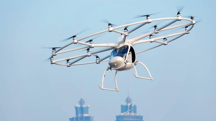 Au început testele pentru taxiul aerian