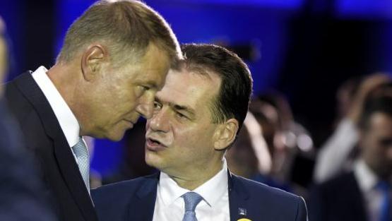 Klaus Iohannnis si Orban