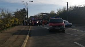 Accident în lanț, în Suceava. Impact violent între 3 mașini: o victimă
