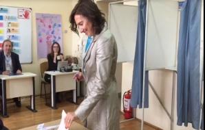 Carmen Iohannis, la vot