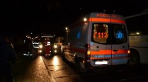 Copil rănit, după ce a fost lovit cu mașina de o polițistă
