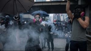 Focul a fost declanșat în Hong Kong