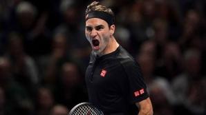 Roger Federer, în semifinale la Londra