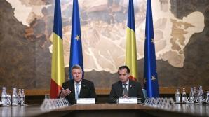 Președintele Klaus Iohannis și premierul Ludovic Orban la prima ședință de lucru a Guvernului Foto: Facebook/Klaus Iohannis