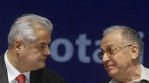 Adrian Năstase și Ion Iliescu