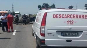Accident cumplit, în județul Brăila: un mort, după un impact devastator