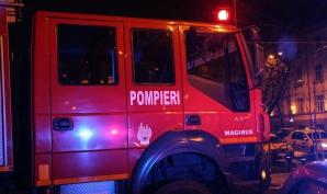 Incendiu devastator la o casă dintr-o comună din județul Argeș