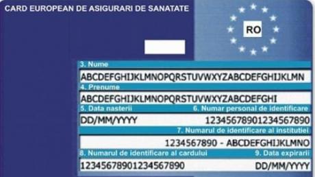 Cardurile europene de sanatate sunt redistribuite de vineri
