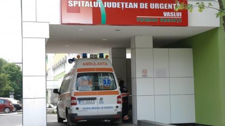 Sectie a Spitalului Judetean de Urgenta Vaslui, inchisa din cauza infectiilor