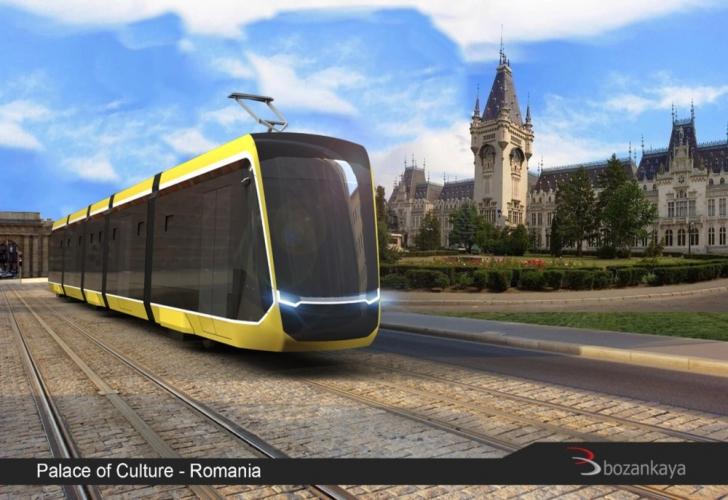 Cum arată noile tramvaie care vor circula prin Iași