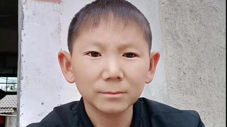 Chinezul rămas copil