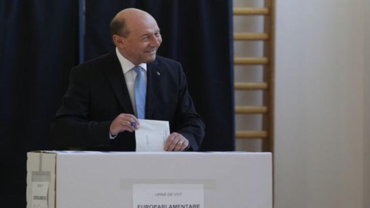 Reacția lui Traian Băsescu imediat după ce a votat. A spus răspicat absolut tot