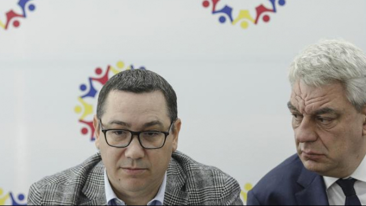 Ponta, exasperat de trădarea lui Tudose