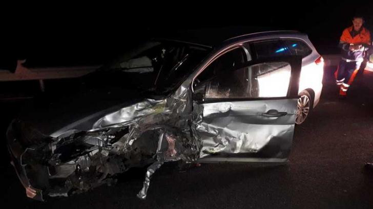 Accident în Caraș-Severin. 4 mașini implicate, 4 persoane au fost rănite