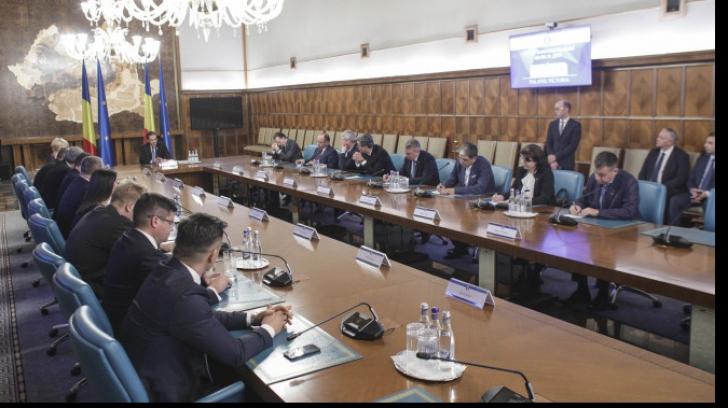 Guvernul Orban, la Palatul Victoria Foto: Inquam Photos/Octav Ganea