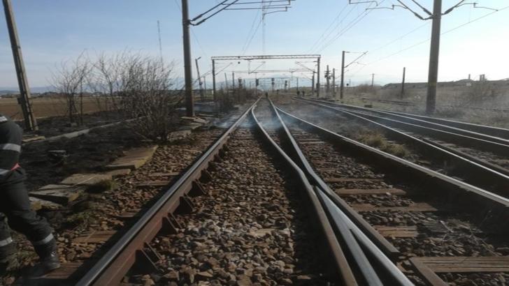 Restricții de viteză pe calea ferată, din cauza vântului puternic