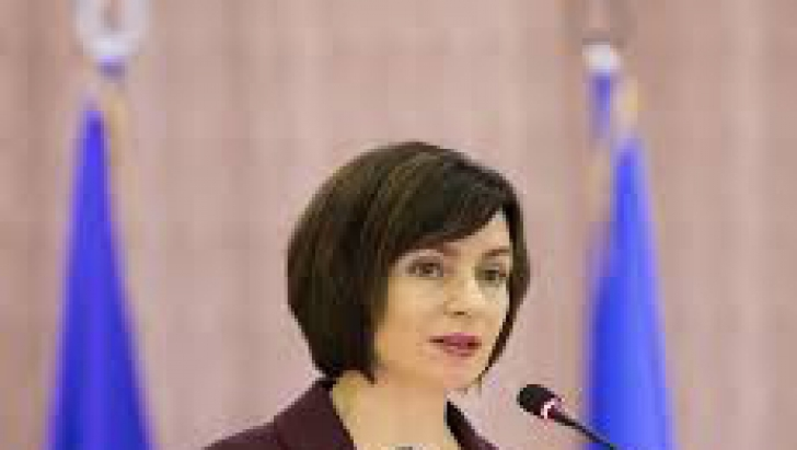 Maia Sandu, premierul Republicii Moldova Foto: gov.md