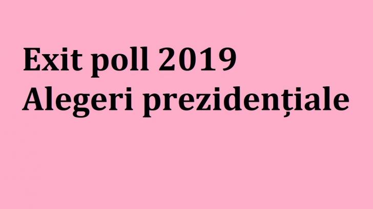 Rezultate vot 2019 // Exit poll 2019 președinte