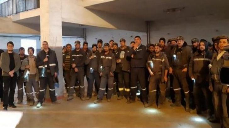 După 11 zile, minerii din Valea Jiului au renunțat la protest