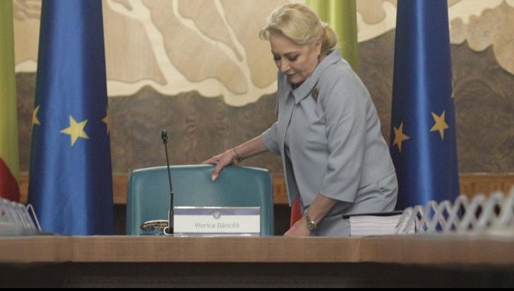 Viorica Dăncilă, ultima ședință de guvern