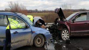 accident județul Timiș