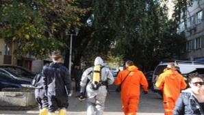 Intervenție echipaje speciale CBRNe