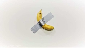 O banană a fost vândută cu 120.000 de dolari