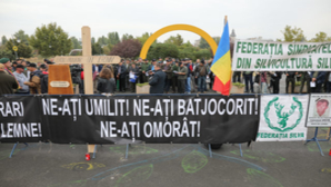 Protest Federaţia Sindicatelor Silva, Parlament, 24 septembrie 2019 Sursa: Inquam Photos/George Călin