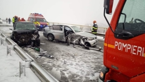 Accident grav, în jud. Satu Mare: 3 persoane au ajuns la spital