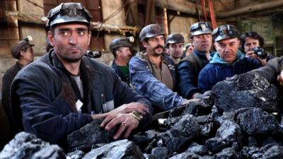 Mineri - Imagine de arhivă