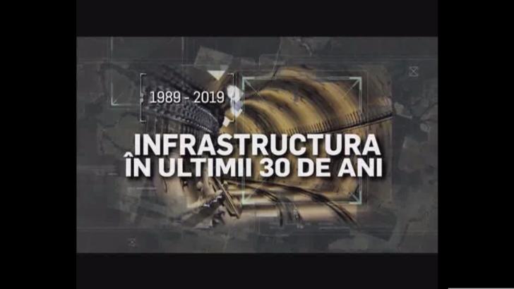 De zeci de ani, infrastructura României înseamnă numai promisiuni. Cum arată bilanţul dezastrului