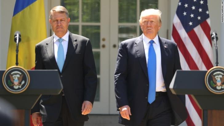 Donald Trump, mesaj de felicitare pentru Romania și Klaus Iohannis