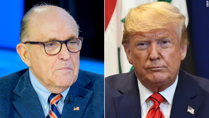 Donald trump giuliani