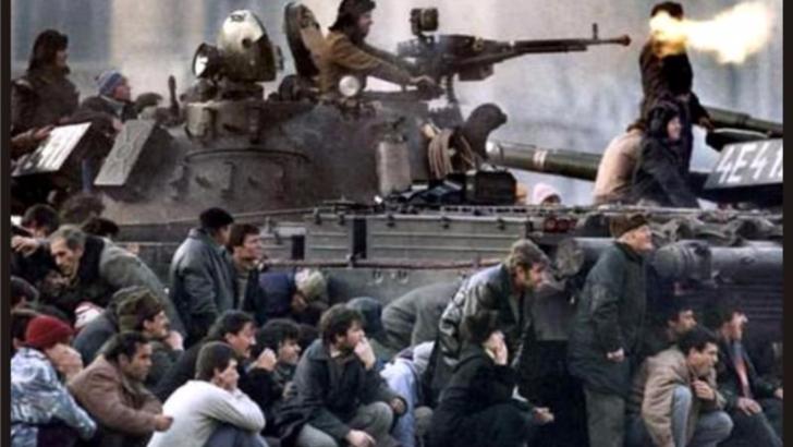 Guvernul Orban marcheaza, la Ateneul Roman, 30 de ani de la Revolutie - Proiectie de imagini la Interne