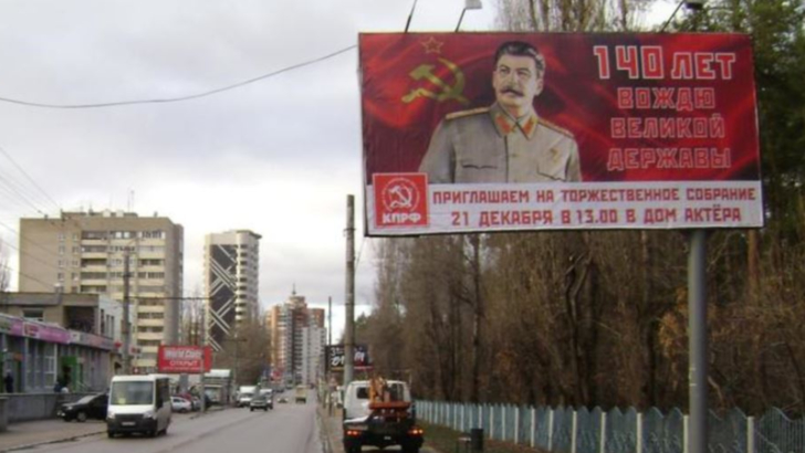 Petrecere gratuita de ziua lui Stalin. Un oras intreg din Rusia, scandalizat