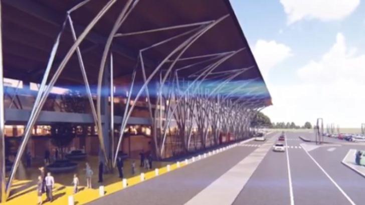 Realitate sau fantezie? Cum va arăta, în viziunea autorităților, terminalul aeroportului de la Brașov (Video)
