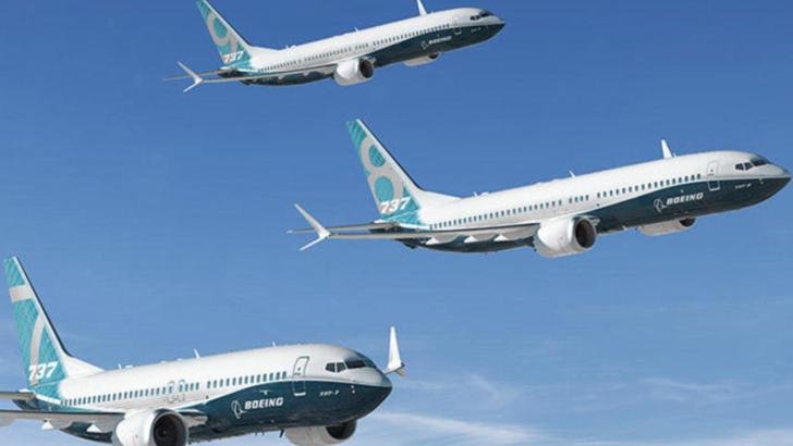 Boeing opreste productia de avioane 737 MAX
