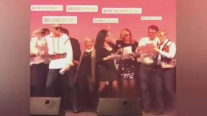 """Dacian Cioloş cântă """"Dragostea din Tei"""" a trupei O-Zone, la Bruxelles"""