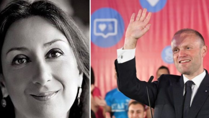 Malta: Asasinarea jurnalistei Daphne Caruana Galizia și premierul Joseph Muscat Foto: Lovin Malta