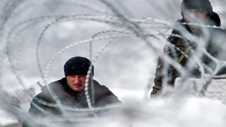 Frontieră falsă între Rusia și Finlanda