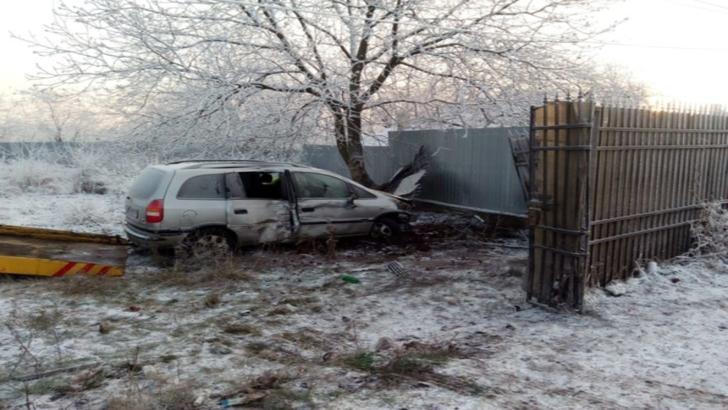 HAOS pe șoselele din Prahova! 5 accidente la Moara Nouă, din cauza poleiului: 3 victime