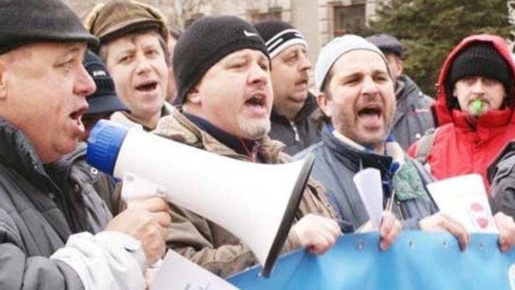 Protest BNS la CCR