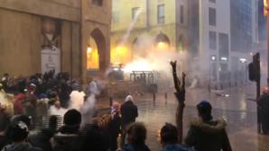 Proteste violente la Beirut